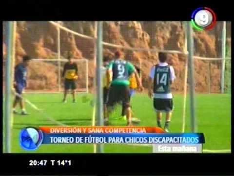 Canal 9 Bahía Blanca - Torneo de futbol para chicos especiales