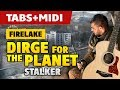STALKER OST Firelake Dirge For The Planet Acoustic Guitar Cover Tutorial With Tab mp3