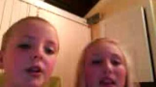 Abbie and Lydia messing x