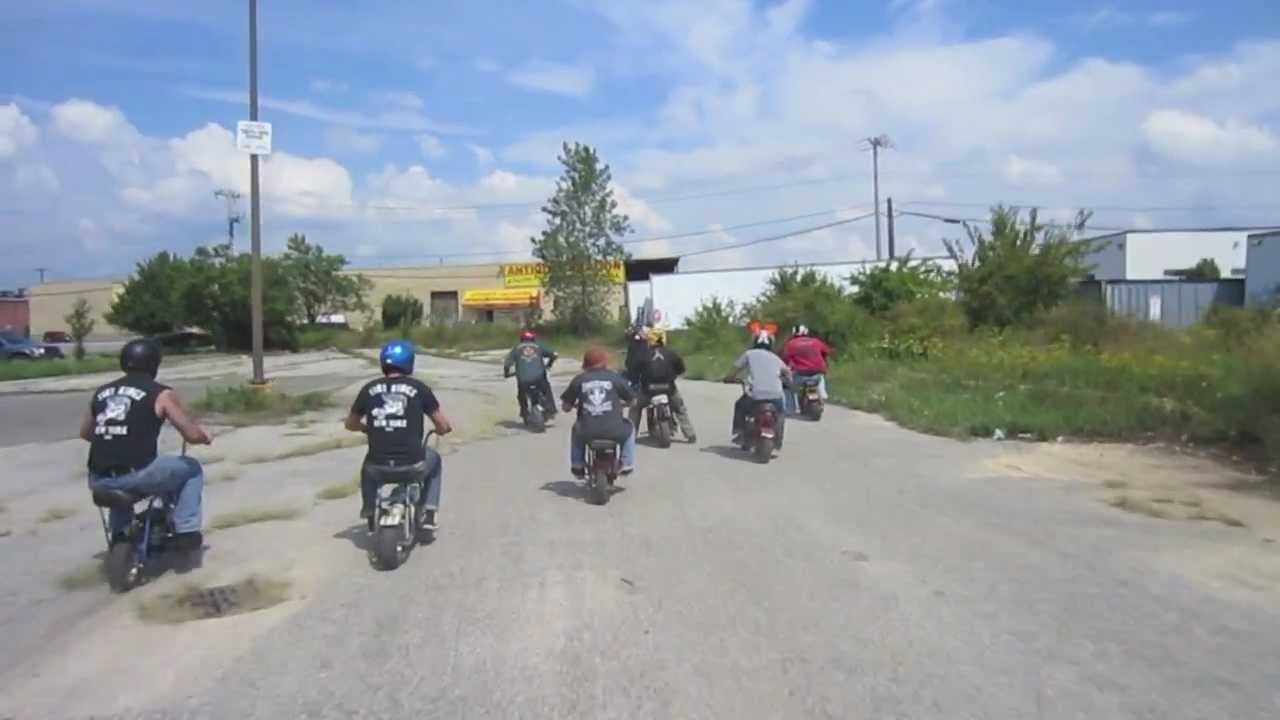 Long island mini bike racing youtube