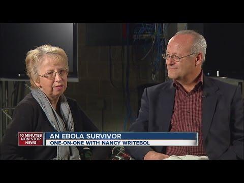 Nancy Writebol survived the Ebola virus
