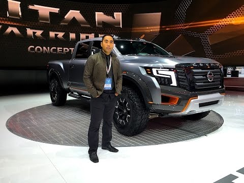 Nissan TITAN Warrior Concept Truck @ North American International Auto Show #NAIAS - MOTOMAN UNCUT
