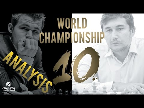 Carlsen - Karjakin Game 10 World Chess Championship 2016 | Grandmaster Analysis