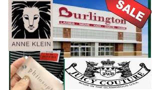 Comprando Ropa de MARCA/DISEÑADOR en LIQUIDACIÓN en BURLINGTON