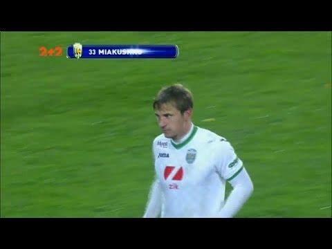 Карпати - Динамо - 1:1. Відео голу Мякушка