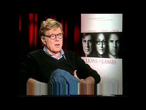 Lions For Lambs: Robert Redford Interview