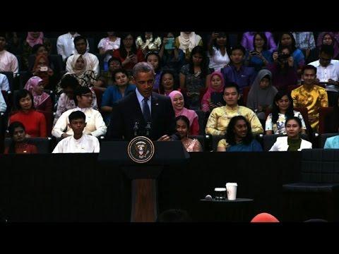 Obama in Kuala Lumpur for ASEAN summit