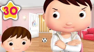 Brothers and Sisters STOP BUGGING | Kids Songs | Little Baby Bum | Moonbug TV After School
