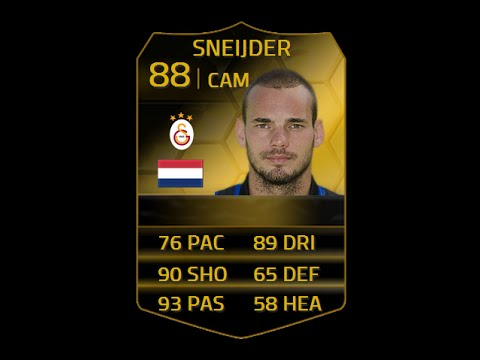 FIFA 14 TIF SNEIJDER 88 Player Review & In Game Stats Ultimate Team