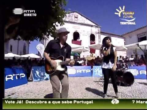 Rosa Mate na RTP1 Alma sem G�s (Ver�o Total, Tent�gal 27-07-2011)