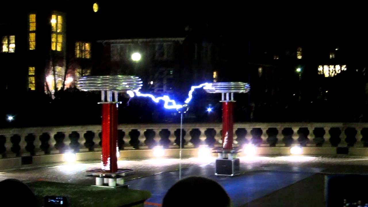 Tesla Coil Music Sail By Awolnation Youtube