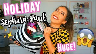 The Biggest SEPHORA HAUL Alive | Holiday 2018