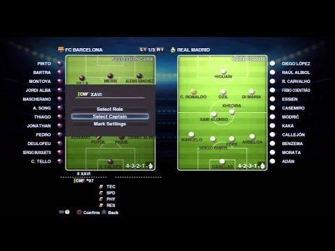 """[Error] Pro Evolution Soccer 2013 """"Game Plan"""""""