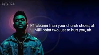 The Weeknd - starboy lyrics (best version)