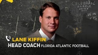 Lane Kiffin explains FAU recruiting video and more | THE HERD (FULL INTERVIEW)