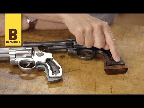 Quick Tip: Smith & Wesson Revolvers Square Butt Vs. Round Butt