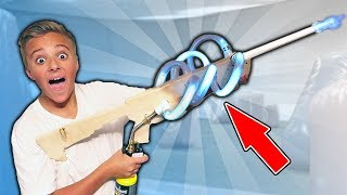PLASMA COIL BLASTER BOTTLE LAUNCHER Adventure!!