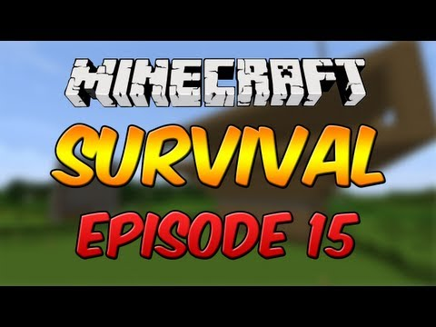  Minecraft Survival - Industial Furnaces and Egg Farm! #15