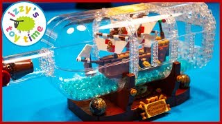 LEGO SHIP IN A BOTTLE! Fun Toys for Kids!