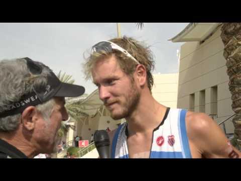 Michael Raelert - Bahrain Post Race