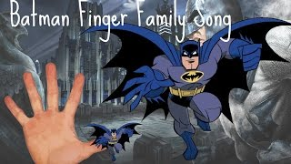 BATMAN FINGER FAMILY SONG AVENGERS SUPERHEROES KIDS NURSERY RHYMES COLLECTION DADDY FINGER