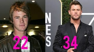 Chris Hemsworth - Transformation From 22 to 34 Years Old (2019)
