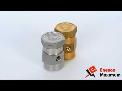 Прерыватели ваккума VK-70, VK-71 и другая трубопроводная арматура в ЭнергоМаксимум