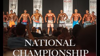 Steven Cao Road to Pro: Team Universe National Championship | Last Workout & Show Day