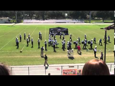 Crystal River High School Band at Hurricane Pride