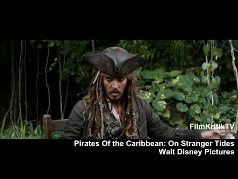 PIRATES OF THE CARIBBEAN: ON STRANGER TIDES Trailer (Fluch Der Karibik 4) [HD]