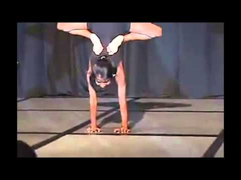 Indian Girl Child Contortionist Expert (Contortion Child Prodigy)