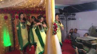holud dance performance at dhaka