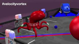 FTC 2016-2017: Velocity Vortex(Animation Only)
