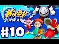 Kirby Star Allies - Gameplay Walkthrough Part 10 - Adeleine & Ribbon, Dark Meta Knight, and Daroach! thumbnail