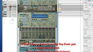 Producing with Reason Tutorial - Tutorial on Reason 4 basic Hip Hop Beat making - part 3 (4 parts)-