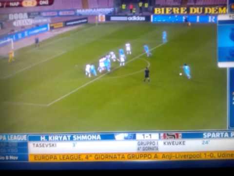 Napoli-Dnipro 4-2 (Sky Sport 24)