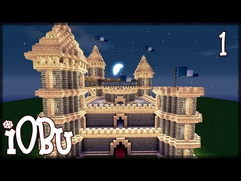 EPIC CASTLE Part 1 2 Building Tutorial Minecraft Tutorial with Download