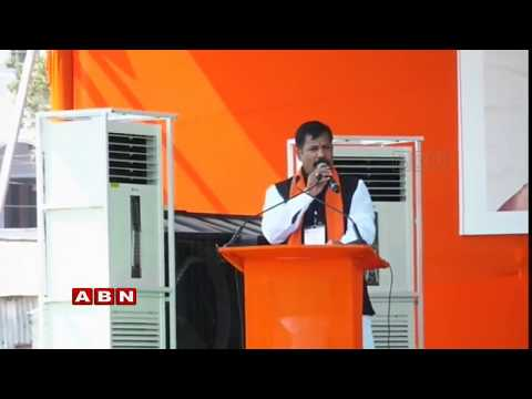 Amit Shah | Amit Shah address Public meeting at Parkal ABN Telugu