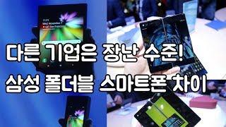 이게 진짜? 삼성 폴더블 스마트폰 갤럭시F 차원이 다른 기술력