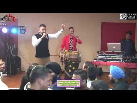 Part 1 Vaisakhi Event With Amar Sajaalpuri-Live Stage Show DanceDholBhangra...