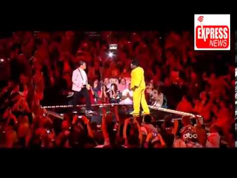 Psy dance gentleman in billboard awards 2013  Funny Perform