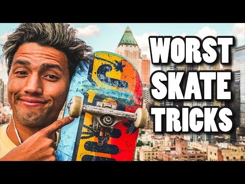 5 TRICKS SKATERS SHOULD NEVER DO!!!