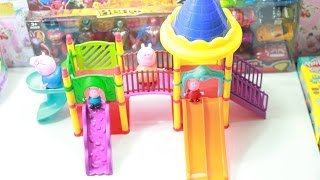 Unbox Peppa Pig - The Holiday and other Storis - Peppa Pig Play Doh