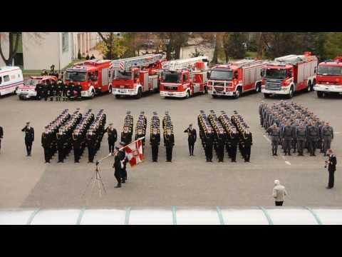 Ślubowanie 2013 - Centralna  Szkoła Aspirantów Państwowej Straży Pożarnej W Częstochowie