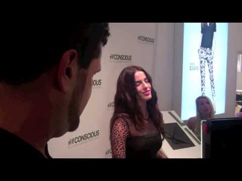 H&M Conscious Line w/ Jessica Lowndes
