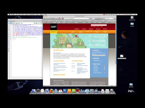 Dreamweaver Tutorial - Working with Templates and Server-Side Includes