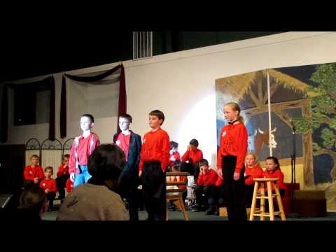 Plumas Christian School - A Star is Born Play - Cameron Scully - Sing My Life's Review - 12/18/2010
