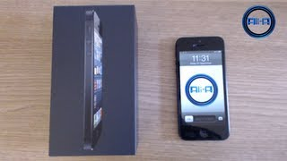 iPhone 5 Unboxing - Ali-A's new vlog camera! (Apple iPhone 5 Unboxing Review Today HD)