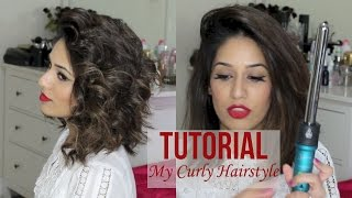 My Curly Hairstyle For Short Hair | Nume Titan 3