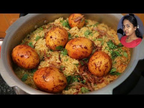 முட்டை பிரியாணி செய்வது எப்படி | How to Make Egg Biryani | Selva Priya's Kitchen